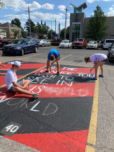 Parking Lot Gets Facelift